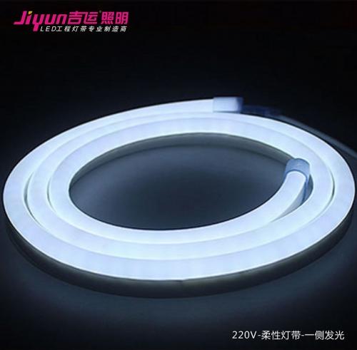 为什么说led高压灯带优先适用于家居暗槽安装