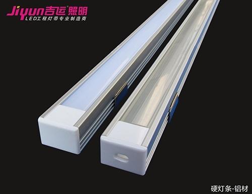 led工程灯带因其可任意组合适用于广告装饰