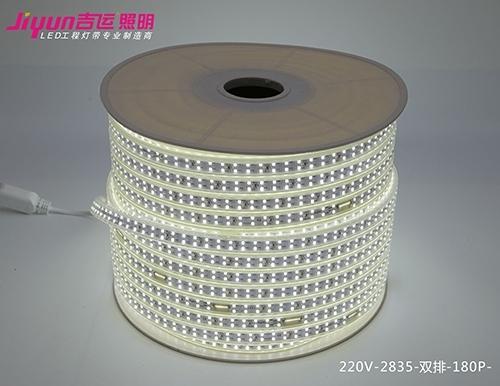 led高压灯带的主要优点是防水和方便布线