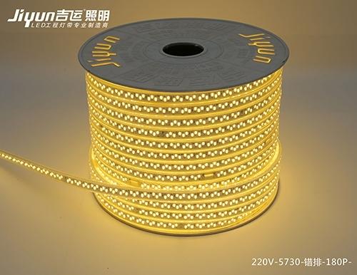 led低压灯带必须由电源控制才能发光
