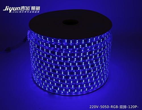 led高压灯带依据防水级别规定分成哪几种