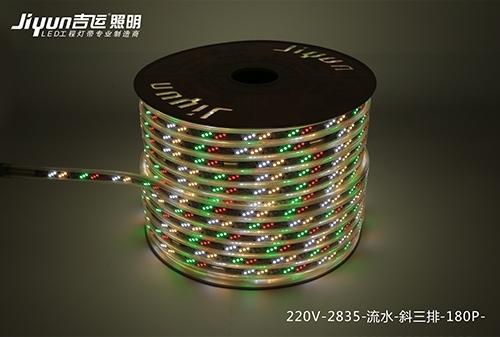 led工程灯带多见于刻画各各种各样建筑物的轮廊